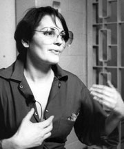 Marilyn Buck at Resistance Conspiracy Trial 1983