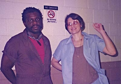 Marilyn Buck with codefendant Mutulu Shakur