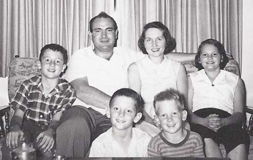Marilyn Buck and family